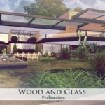 Pralinesims' Wood and Glass