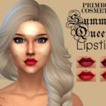 PrimroseSmith's SUMMER QUEEN Detailed lipstick by Primrose Smith