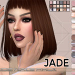 Pinkzombiecupcakes' Nude Nails Pack Jade