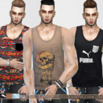 Pinkzombiecupcakes' Dust Storm Tank Tops Collection(male)