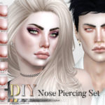 Pralinesims' DIY Nose Piercing Set