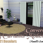"TS3 Curtain ""Modern"" Conversion"