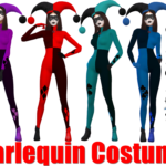 Harlequin Costume