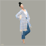 ACC_Bohemian Robe_ Bohemian Grove _ girl costume accessories – SIMS4 marigold