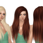Simista A little sims 4 blog : Misery Hair Retexture