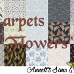 "Carpets ""Flowers"""