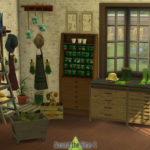 Around the Sims 4 | Custom Content Download | Old Gardening Shop