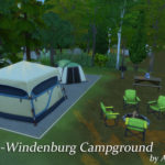 Von-Windenburg Campground – National Park 64×64 | Ann.W's Sims 4