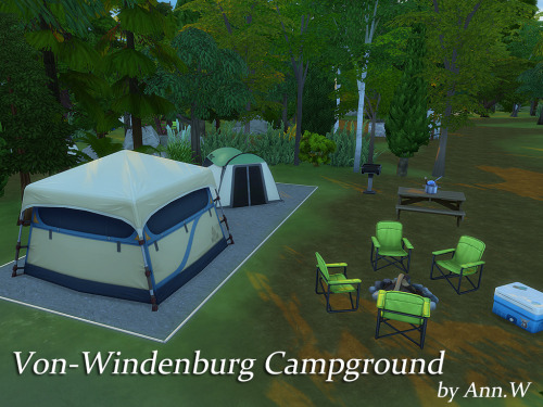 Von Windenburg Campground National Park 64 215 64 Ann W S
