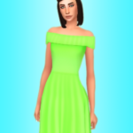 art deco  Nolan Sims PRETTY BREEZY DRESS // Recolor