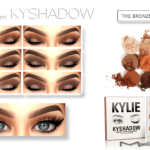 kyliecosmetics KYSHADOW Palette by MAC Shades from… – Cosimetics