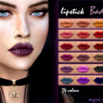 lipstick – bad girl -24 colors. – Works with… – ANGISSI