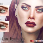 Pralinesims' Avalon Eyebags N09