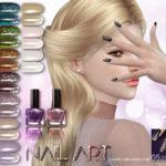 S-Club LL ts4 Nail Art N05