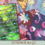 evi's Summer rugs