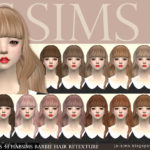 [JS SIMS 4] Habsims Barbie Hair Retexture | JS SIMS