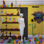 Jennisims: Downloads sims 4:Decoratives Disney Vol 5 (12 items)