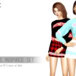 Sims4 Marigold ? mrxsthetic: COSMIC GIRLS (WJSN) INSPIRED SET …