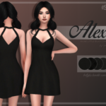 ✩ Trillyke ✩ | Alexis A-Line Little Black Dress I'm out of ideas…