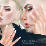 Pralinesims' Enigma Rings (Female)