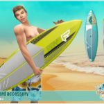 Severinka_'s [Island Paradise] Surfboard accessory
