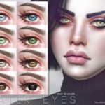 Pralinesims' Water Eyes N100