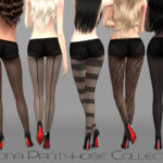 Ms Blue's Mona Pantyhose Collection