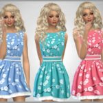 SweetDreamsZzzzz's Blossom Print Dress