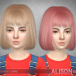 TsminhSims' Alison (Hair 18) child
