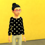 Mony Sousa TS4  POLKA DOT BLOUSE CHILDREN