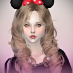 Jennisims: Downloads sims 4: Accessory HeadBand Minnie,Rabbit