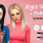 Fat Baby – Joyce Hair V1  + Ombres by Simduction New hair for…