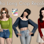 Boho Long Crop Recolors Custom icon thumbnail … – An Unearthly Child