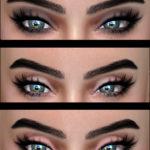 Kenzar SimsSerena&Saul Eyeshadows