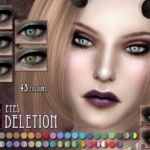 RemusSims — Deletion eyes for The Sims 4 :)DOWNLOAD The…