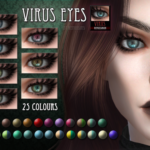 RemusSims — Virus eyes for The Sims 4 :)DOWNLOAD The preview…