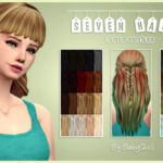 BabyShell, Seven hair by @moon-craters You need the mesh 20…