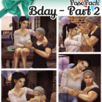 JuhhB BDay Pose Pack