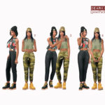 Dear Kim's Sims – [posePack] DearKim_a_specialTrack Pose player +…