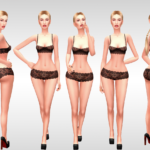 Candace Sims | POSE PACK Nº3 With 9 poses for your make beautiful…