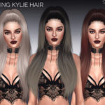 SintikliaSims' Sintiklia – Hair s44 King Kylie