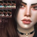 Pralinesims' Earth Eyes N98