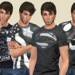 Birba32's Super Hero Design T-shirts