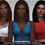 Margeh-75's Nightcrawler Antoinette Braid Retexture