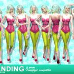 akuiyumi's Standing – Pose pack #8