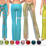 ekinege's Embellished Beach Pants