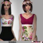 IzzieMcFire's IMF Floral Duo Bodysuit