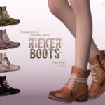 Ms Blue's Rieker Boots Normal+HQ Compatible