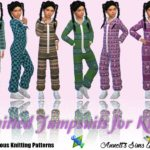 Knitted Jumpsuits for Kids