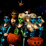 Halloween Pose Pack – RomerJon17 Productions | Ansett4Sims